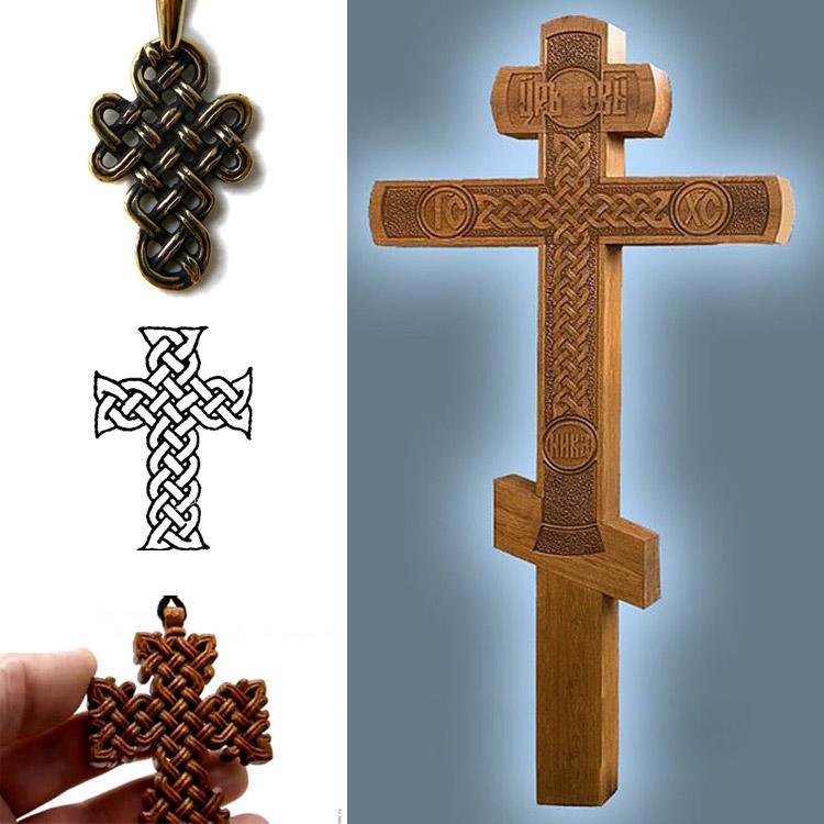 Крест старопечатный