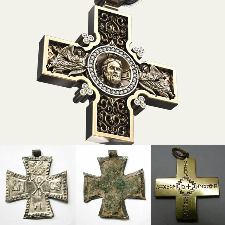 Крест катакомбный или