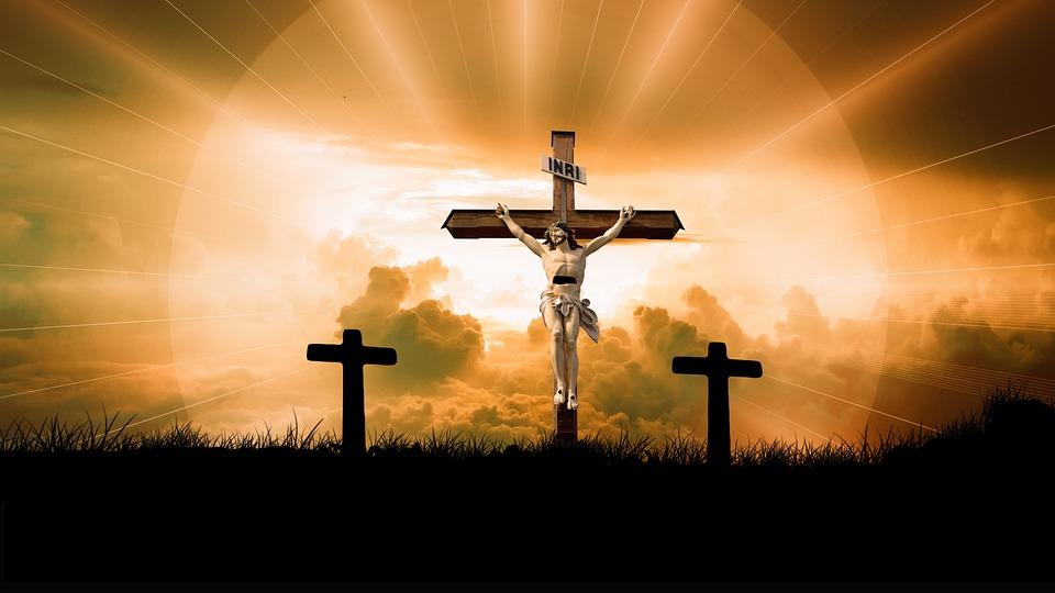 Изображение Иисуса на распятии