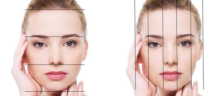 Вимірювання частин обличчя