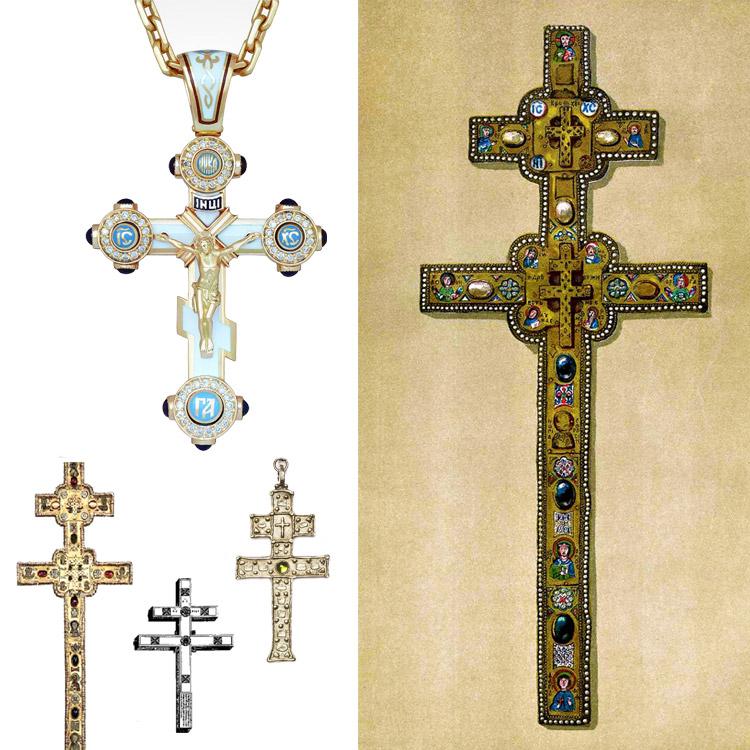 Крест шестиконечный